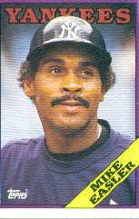 1988 Topps 741 Mike Easler