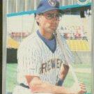 1989 Fleer 186 Jim Gantner