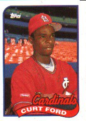 1989 Topps 132 Curt Ford