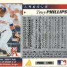 1996 Score #165 Tony Phillips