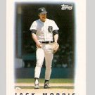 1986 Topps Mini Leaders #14 Jack Morris