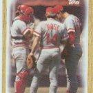 1987 Topps 281 Reds Team