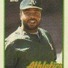 1989 Topps 475 Dave Parker