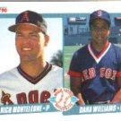 1990 Fleer 648 Rich Monteleone/Dana Williams RC
