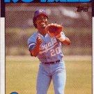 1986 Topps 215 Frank White