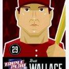 2012 Triple Play #32 Brett Wallace