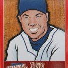 2012 Triple Play Stickers #17 Chipper Jones (Atlanta Braves)(Baseball Cards)