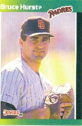 1989 Donruss Baseball's Best #77 Bruce Hurst