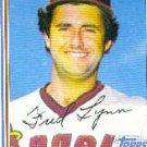 1982 Topps #251 Fred Lynn