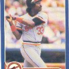 1986 Fleer #282 Eddie Murray