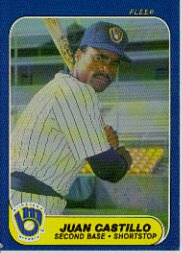 1986 Fleer Update #22 Juan Castillo XRC
