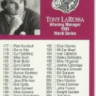 1991 Studio #263 Checklist Card