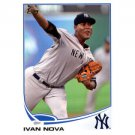 2013 Topps #147 Ivan Nova
