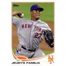 2013 Topps #271 Jeurys Familia RC