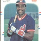 1988 Fleer #605 Joe Carter