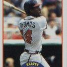 1989 Score #406 Andres Thomas