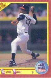 1990 Score 311 Melido Perez