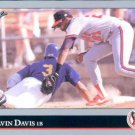 1992 Leaf 168 Alvin Davis