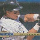 1994 Collector's Choice #312 Andres Galarraga TP
