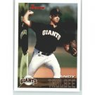 1995 Bowman #14 Andy Taulbee RC