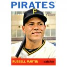 2013 Topps Heritage #364 Russell Martin