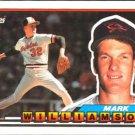1989 Topps Big 147 Mark Williamson