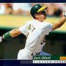 1994 Score #598 Kurt Abbott RC