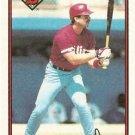 1989 Bowman #399 Steve Lake