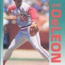 1992 Fleer 576 Jose DeLeon