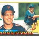 1989 Topps Big #253 Gregg Jefferies