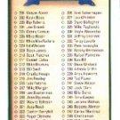1990 Upper Deck 400 Checklist 301-400