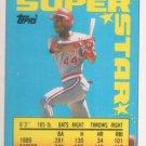 1990 Topps Sticker Backs #13 Eric Davis