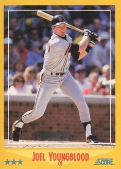 1988 Score 509 Joel Youngblood