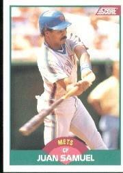 1989 Score Traded #21T Juan Samuel