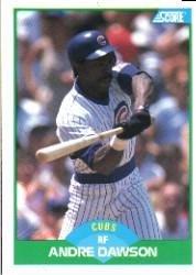 1989 Score #2 Andre Dawson