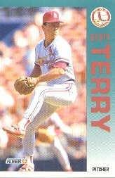 1992 Fleer 593 Scott Terry