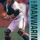 1992 Fleer 641 Kirt Manwaring