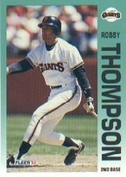 1992 Fleer 648 Robby Thompson