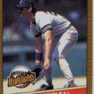 1986 Donruss Highlights #48 Don Mattingly
