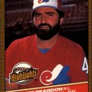 1986 Donruss Highlights #14 Jeff Reardon