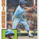1984 Topps 41 Tony Bernazard