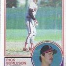 1983 Topps 315 Rick Burleson