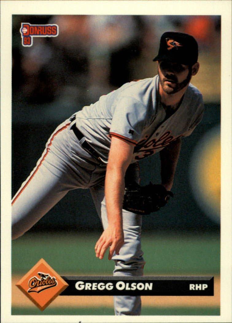 1993 Donruss 117 Gregg Olson