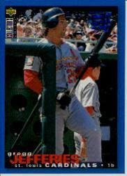 1995 Collector's Choice SE #80 Gregg Jefferies