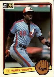 1983 Donruss #466 Warren Cromartie