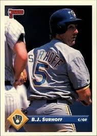 1993 Donruss 545 B.J. Surhoff