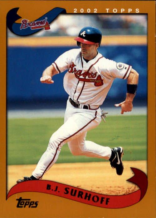 2002 Topps #9 B.J. Surhoff