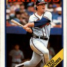 1988 Topps 791 Ted Simmons