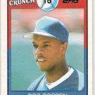 1989 Topps Cap'n Crunch #17 Dwight Gooden