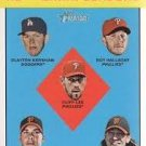 2012 Topps Heritage 5 Clayton Kershaw/Roy Halladay/Cliff Lee/Ryan Vogelsong/Tim Lincecum LL